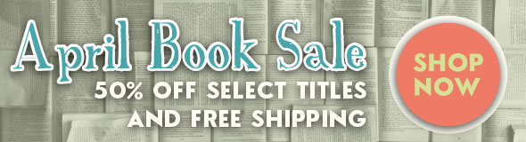 April Book Sale: 50%25 off select titles and free shipping. Shop now!